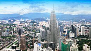 View over Kuala Lumpur.