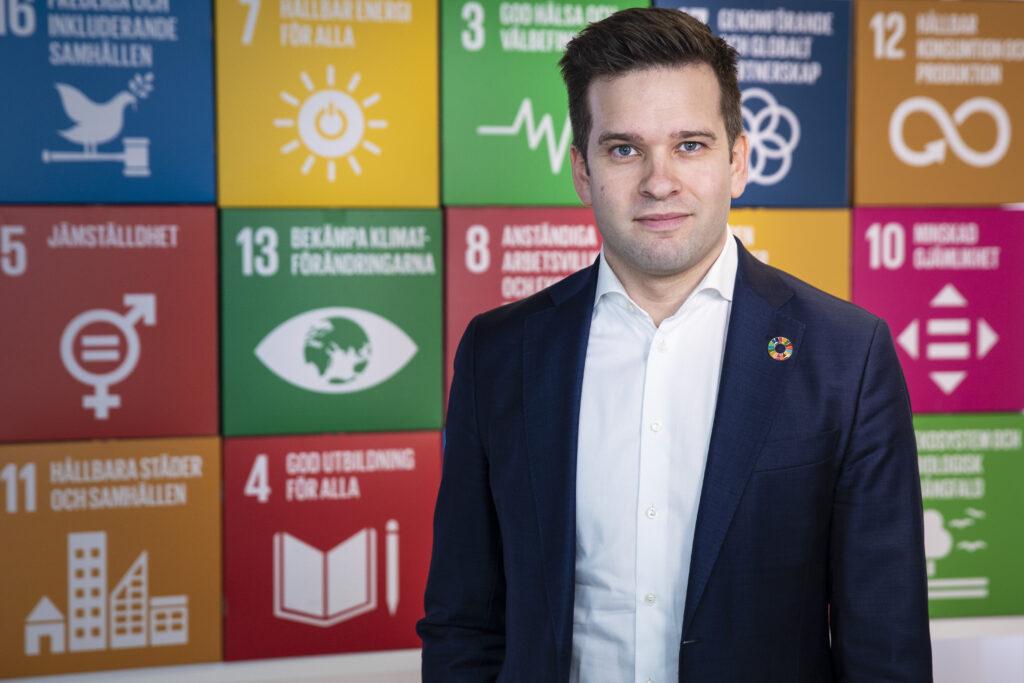 Gabriel Wikström, Nationell samordnare för Agenda 2030